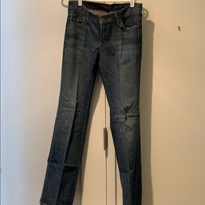 James jeans boot cut barely worn